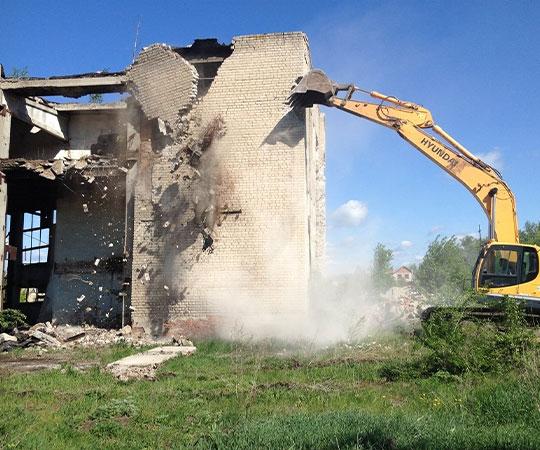 Демонтаж зданий в Воронеже и Воронежской области