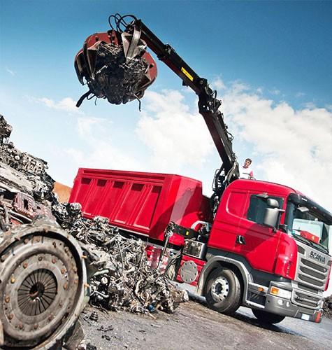 Вывоз мусора ломовозом в Воронеже